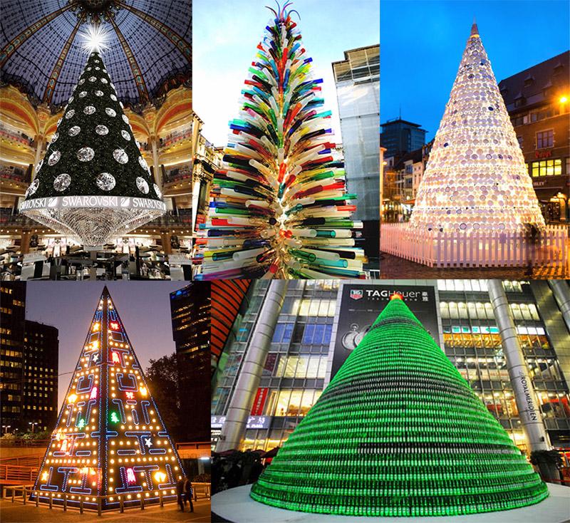 Frohe Weihnachten mit den fünf spektakulärsten und ungewöhnlichsten ...