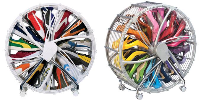 kunstkulturlifestyle blog archiv shoe wheel wohin mit den vielen schuhen. Black Bedroom Furniture Sets. Home Design Ideas
